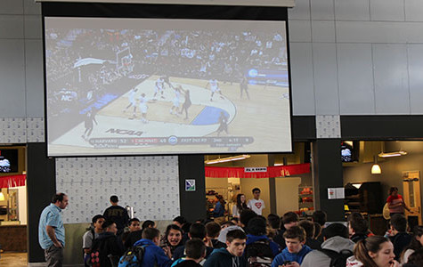 March madness in the commons