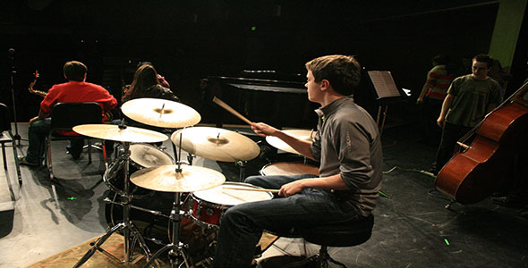 Winter Concert Rehearsal