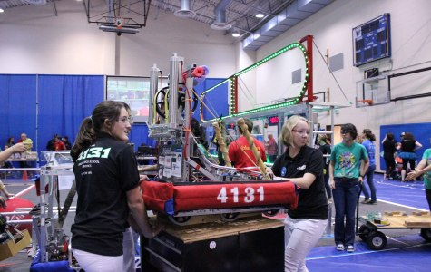 Robotics takes 4th place at Girl's Generation