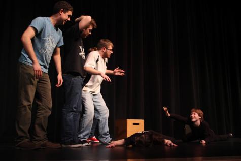 Members of Improv Club master spontaneity