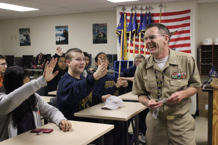 NJROTC program strengthens with new leadership