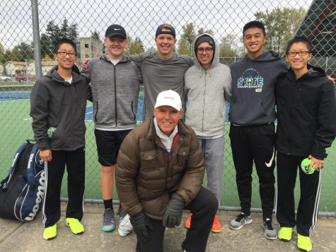 Tennis's second shot at Districts proves successful