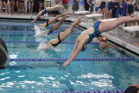 Swimmers commit to the pool