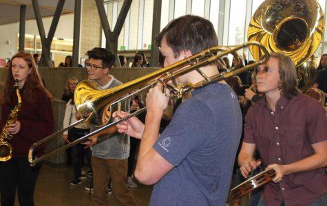 Jazz Band's Impromptu Performance