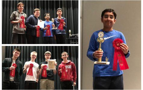Math Club Triumphs at Masters
