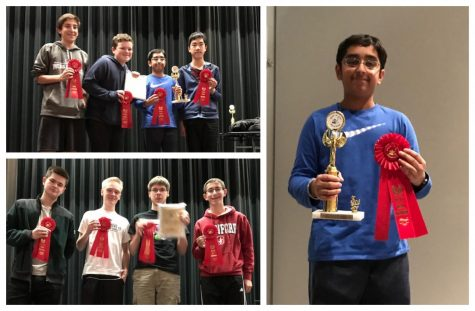 Math Club Triumphs at Masters