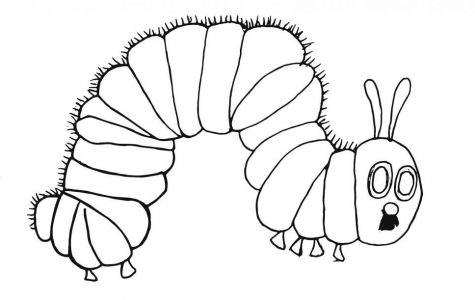 The Backpage Literary Review: The Very Hungry Caterpillar
