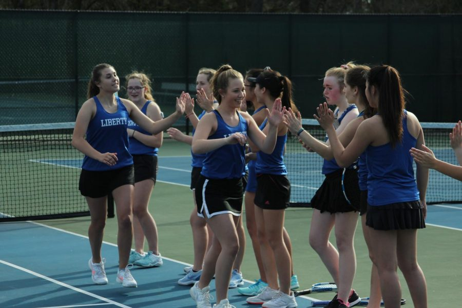 Tennis moves to a small team with big victories
