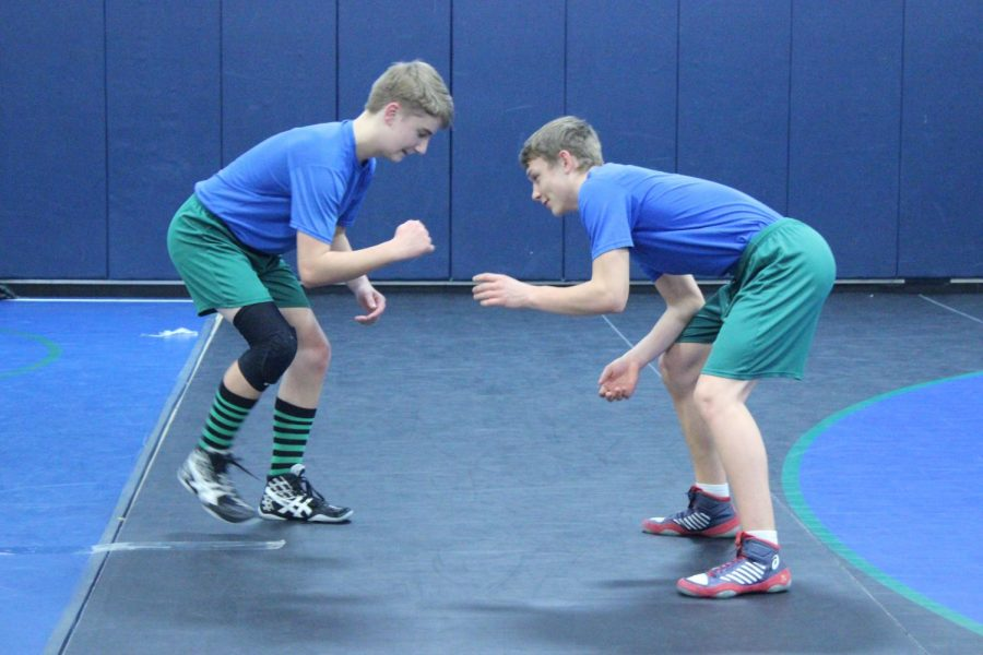 The untold details of wrestling practice