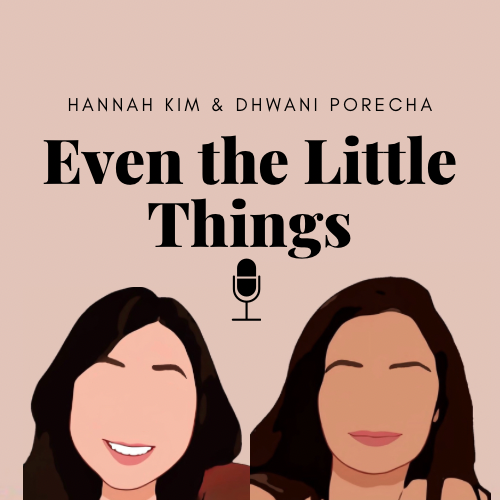 Kim (11) designed this logo for the Even the Little Things podcast, which is also the cover art for all of the episodes.